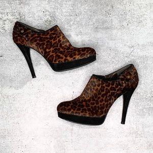 Stuart Weitzman Cheetah Print Booties